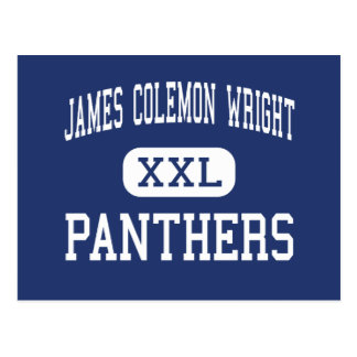 James Colemon Wright Panthers Middle Madison Postcard