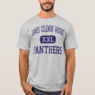 James Colemon Wright Panthers Middle Madison T-Shirt