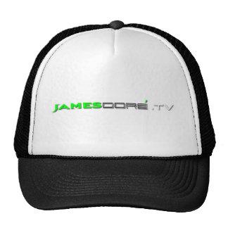 James Doré.TV Hat Green & Black