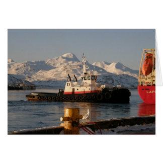 James Dunlap Tugboat in Dutch Harbor, AK Card