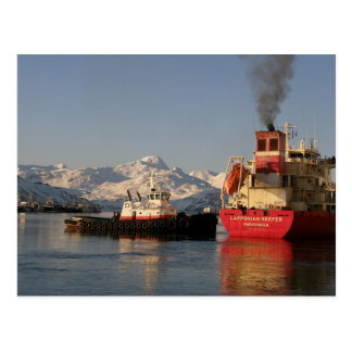 James Dunlap Tugboat in Dutch Harbor Post Cards