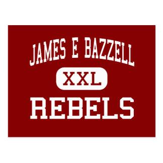 James E Bazzell - Rebels - Middle - Scottsville Postcard