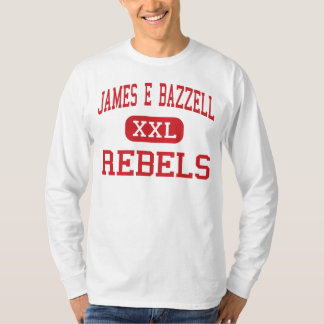 James E Bazzell - Rebels - Middle - Scottsville T-Shirt