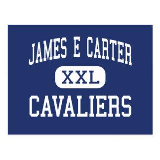 James E Carter Cavaliers Middle Albuquerque Postcard