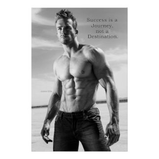 "James Ellis Fit Success Journey  24"" x 20"" Poster"