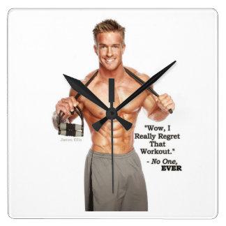 James Ellis Workout Regret Clock