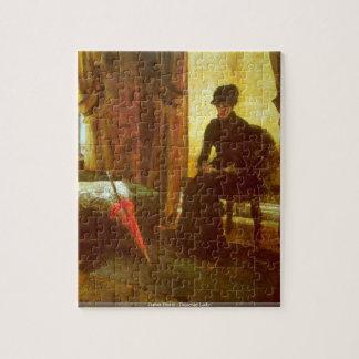 James Ensor - Dejected Lady puzzle
