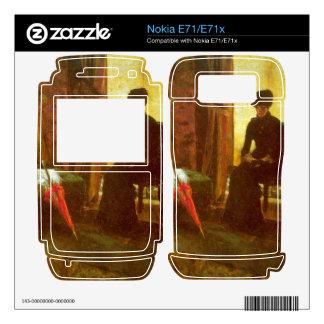 James Ensor - Dejected Lady Nokia E71 Skin