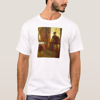 James Ensor - Dejected Lady T-Shirt