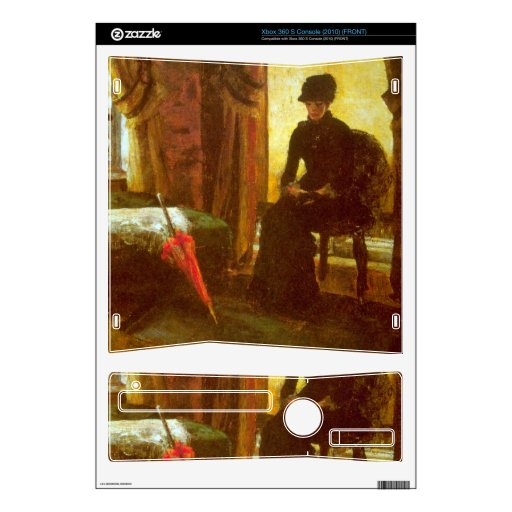 James Ensor - Dejected Lady Xbox 360 S Decal