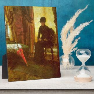 James Ensor - señora Dejected Placas Con Fotos