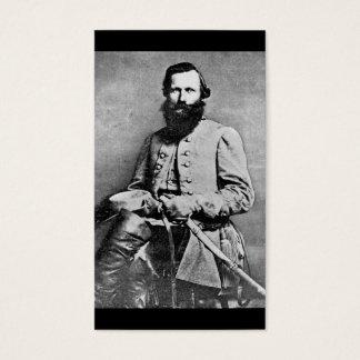 James Ewell Brown Stuart (1833-1864) Business Card