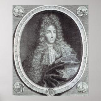James Fitzjames Duke of Berwick Poster