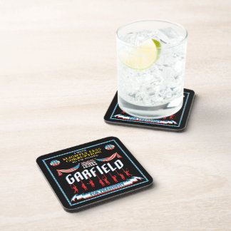 James Garfield 1880 Campaign Coaster Set