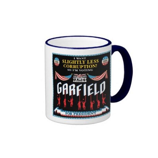 James Garfield 1880 Campaign Mug