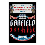 James Garfield 1880 Campaign Poster