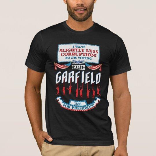 James Garfield 1880 Campaign Women's Dark Shirt