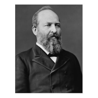 James Garfield 20 Postcard