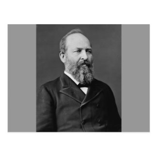 James Garfield 20th President Postcard