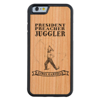 James Garfield Juggler iPhone 6 Case