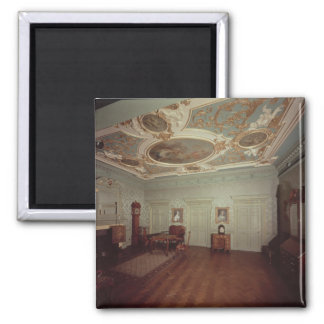 James Gibbs Drawing room from Henrietta Place 2 Inch Square Magnet