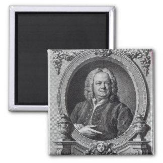 James Gibbs, engraved by Bernard Baron, 1747 2 Inch Square Magnet