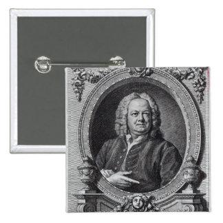 James Gibbs, engraved by Bernard Baron, 1747 Pinback Button