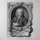 James Gibbs, engraved by Bernard Baron, 1747 Poster