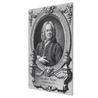 James Gibbs, grabado por el barón de Bernard, 1747 Impresiones En Lona