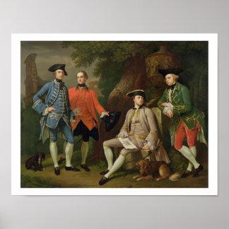 James Grant of Grant, John Mytton, the Honorable T Poster