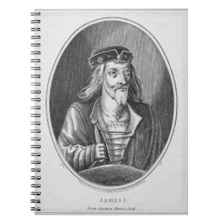 James I (1394-1437), King of Scotland, from Johnst Notebook