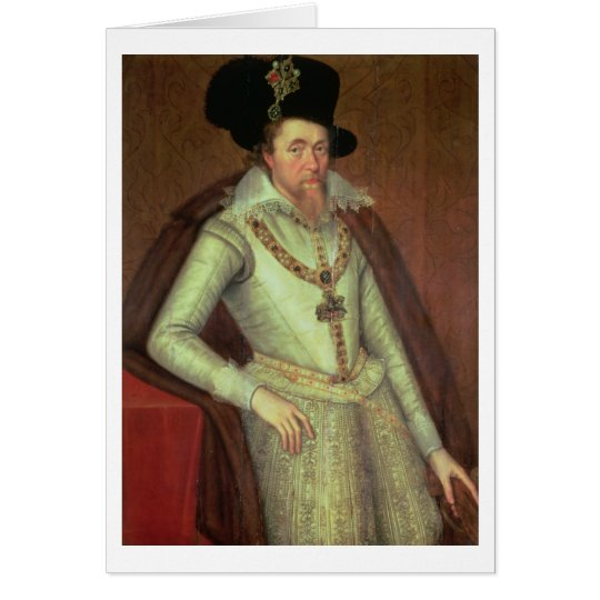 James I (1603-25) and VI of Scotland (1567-1625) Card