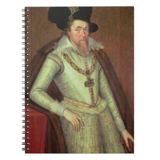 James I (1603-25) and VI of Scotland (1567-1625) Notebook