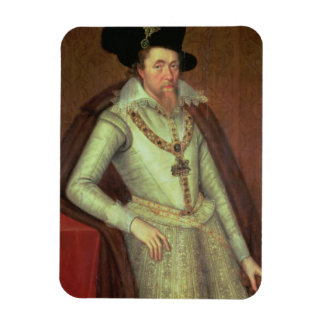 James I (1603-25) and VI of Scotland (1567-1625) Rectangular Magnets