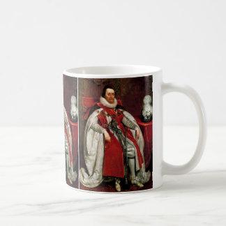 James I by Daniel Mytens Coffee Mug