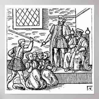James I de Inglaterra y VI de Escocia Póster