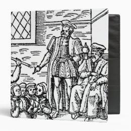 James I  of England and VI of Scotland 3 Ring Binder