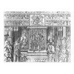 James I of England  at Court Postcards