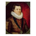 James I Postcard