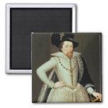 James I, retrato de la mitad-longitud Imán De Frigorífico