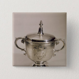 James II Steeple Cup, 1685 Button