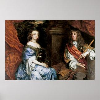 James II y Anne Hyde de sir Peter Lely Impresiones
