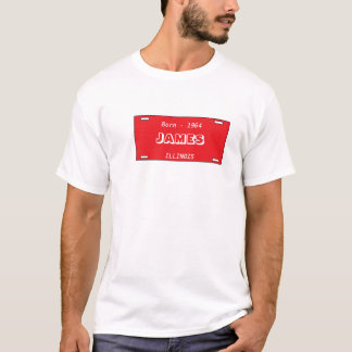 JAMES, ILLINOIS, Born - 1964 T-Shirt