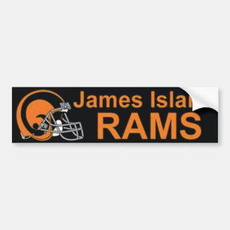 James Island Rams Bumper Sticker
