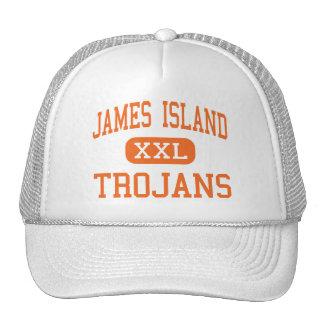 James Island - Trojans - High - Charleston Trucker Hat