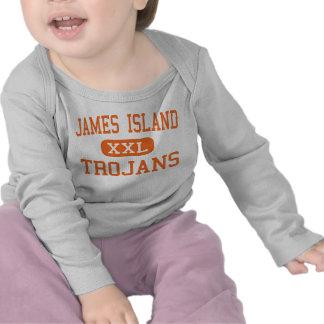 James Island - Trojans - High - Charleston Tee Shirts