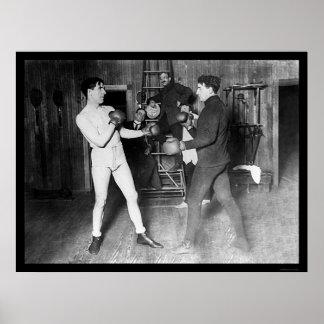James J. Corbett Boxing 1905 Poster