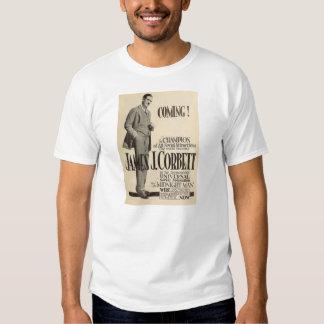 James J. Corbett boxing champion 1919 T-shirt