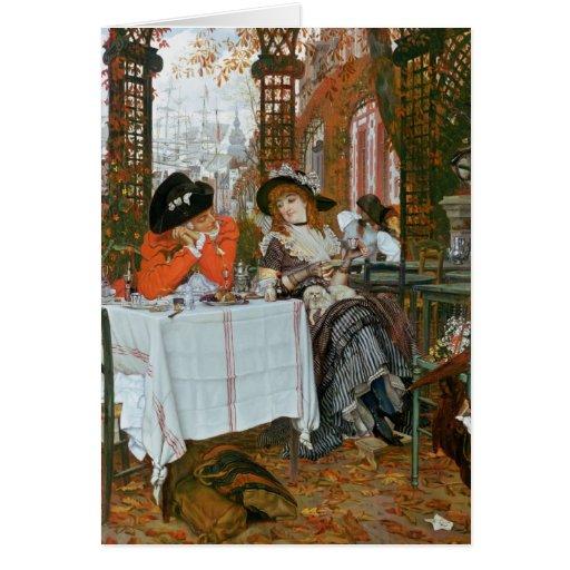 James Jacques Joseph Tissot | A Luncheon Card
