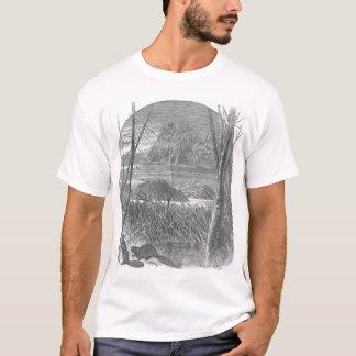 James Johonnot - Beavers and Dam T-Shirt